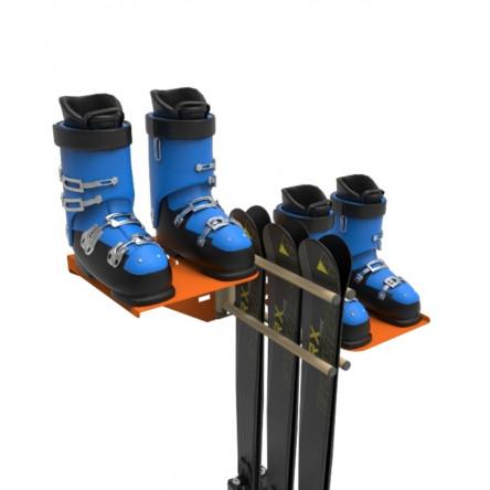 Комплект QX-1 для хранения лыж, сноубордов и ботинок.