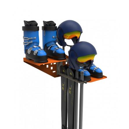Универсальный набор QX-2 для хранения лыжного инвентаря.