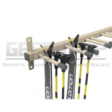 Вешалка для беговых лыж и лыжных палок