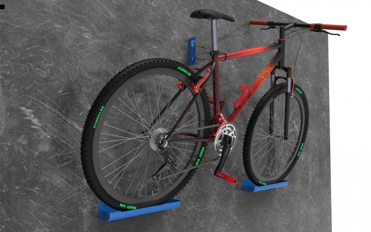 Держатель для велосипеда.