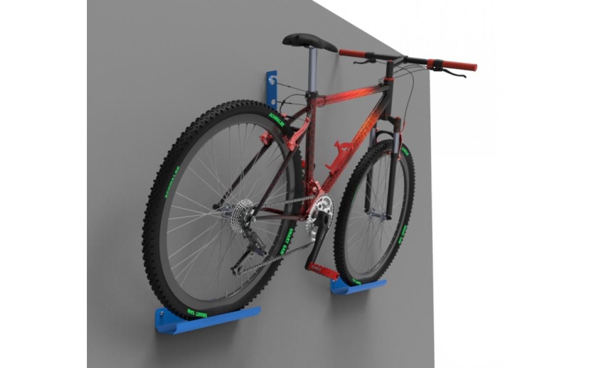 Новинка производства. Велосипедный настенный держатель.