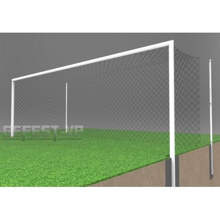 Ворота для футбола: стальные, бетонируемые. СБ-7101.
