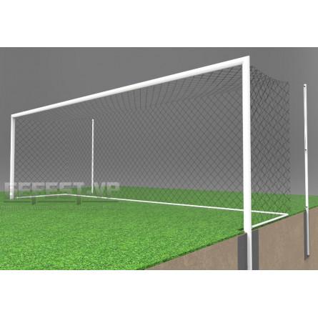 Ворота для футбола: стальные, бетонируемые. СБ-7102.