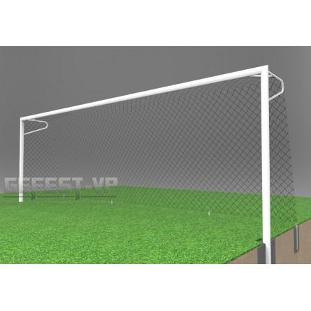 Ворота для футбола: стальные, бетонируемые. СБ-7103.