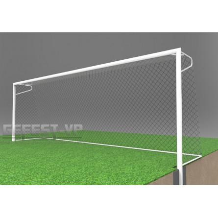 Ворота для футбола: стальные, бетонируемые. СБ-7104.