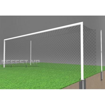 Ворота для футбола: стальные, в стаканах. СС-7101.