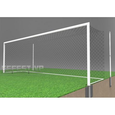 Ворота для футбола: стальные, в стаканах. СС-7102.