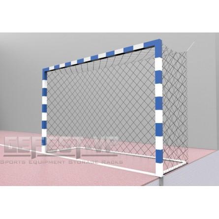 Ворота для мини-футбола стальные, в стаканах.