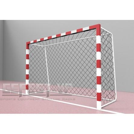 Ворота для мини-футбола, гандбола: стальные, переносные.