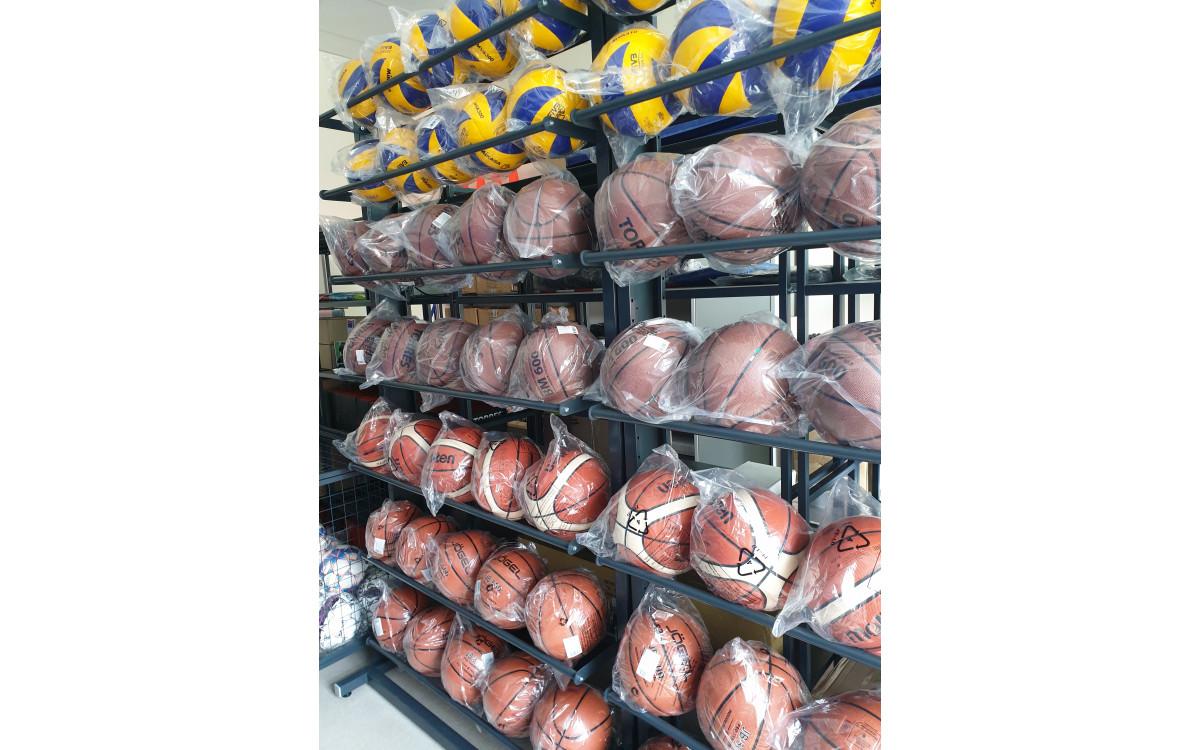 Оборудование для хранения мячей.