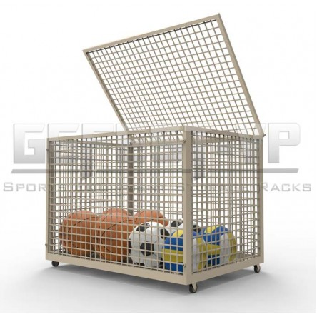 Корзина для хранения мячей сетка