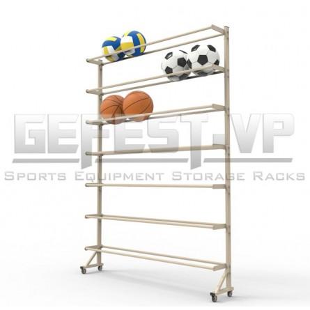 Стеллаж серии «Стандарт» для хранения мячей