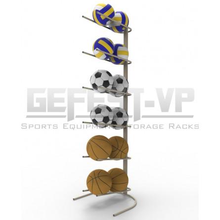Стойка серии «Стандарт» для хранения мячей