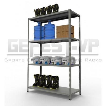 Металлические стеллажи серии «MS STANDART» до 500 кг.