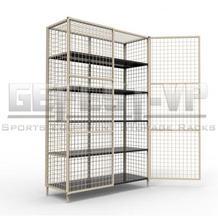 Универсальный стеллаж закрытого типа до 500 кг.