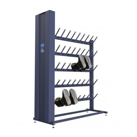 Сушильный стеллаж «СЛ2-Премиум» для обуви, односторонний.