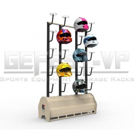 Сушильный стеллаж серии «Стандарт» для шлемов