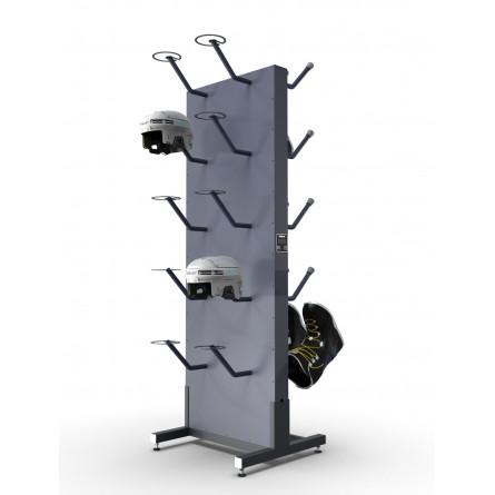 Сушильный стеллаж «СЛ1-Эконом» для обуви и шлемов, двухсторонний.
