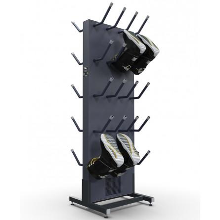 Сушильный стеллаж «СЛ1-Эконом» для обуви, двухсторонний.
