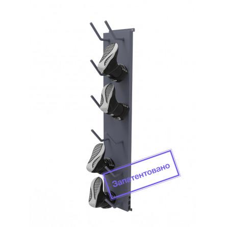 Инфракрасный сушильный стеллаж «СЛ3-Эко» для обуви, односторонний.