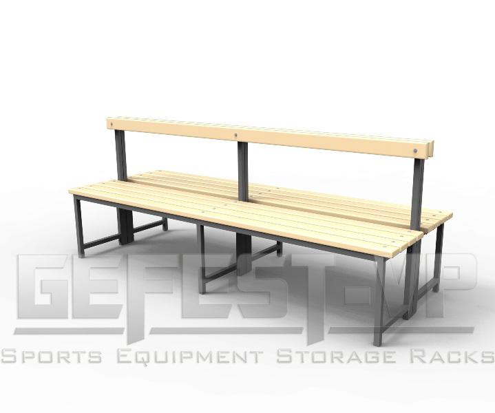 Скамейка для раздевалок.